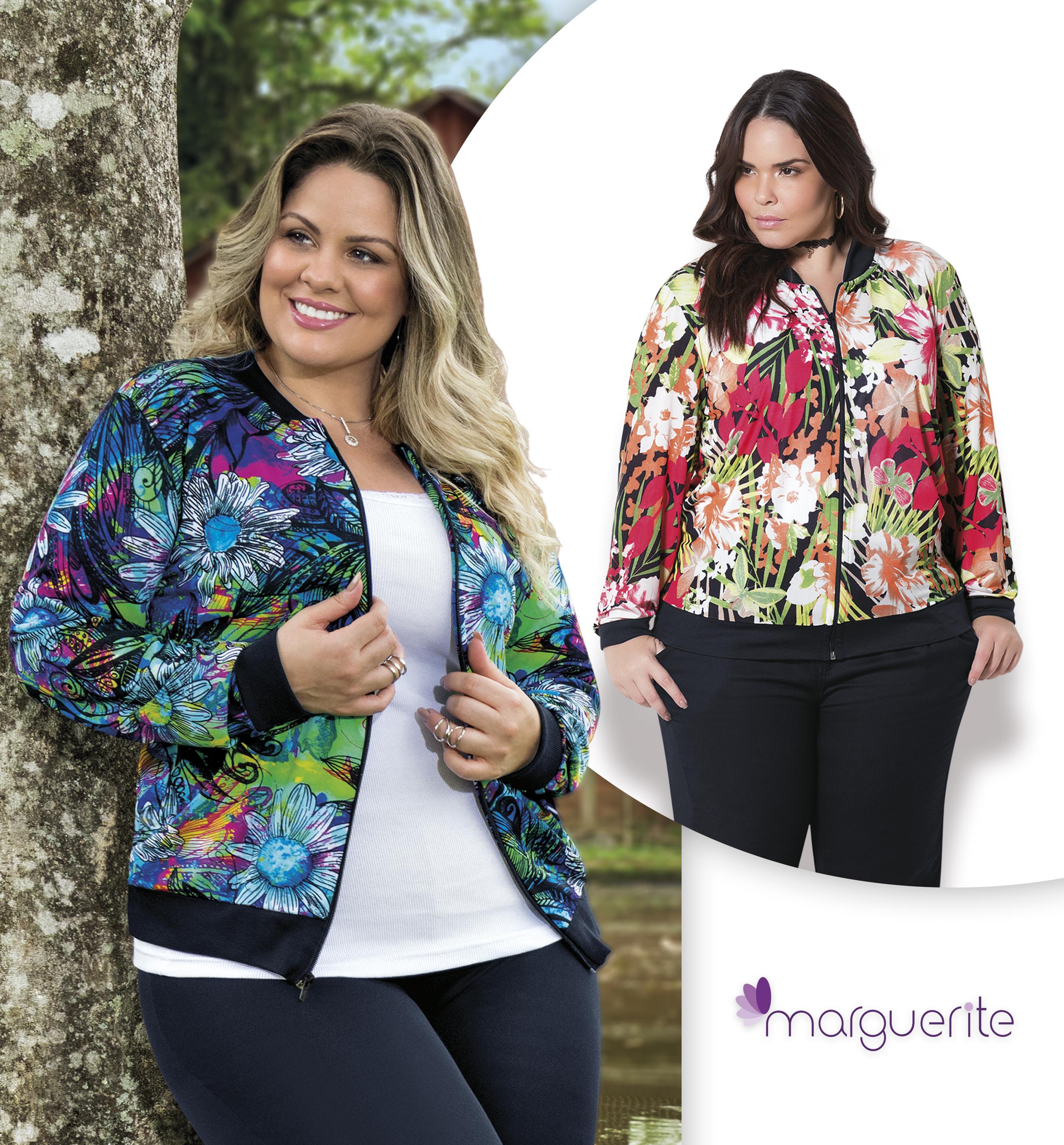 e7b51d0bf Encontre a coleção completa de Marguerite moda Plus Size nas revistas  Quatro Estações ou acesse nosso site!