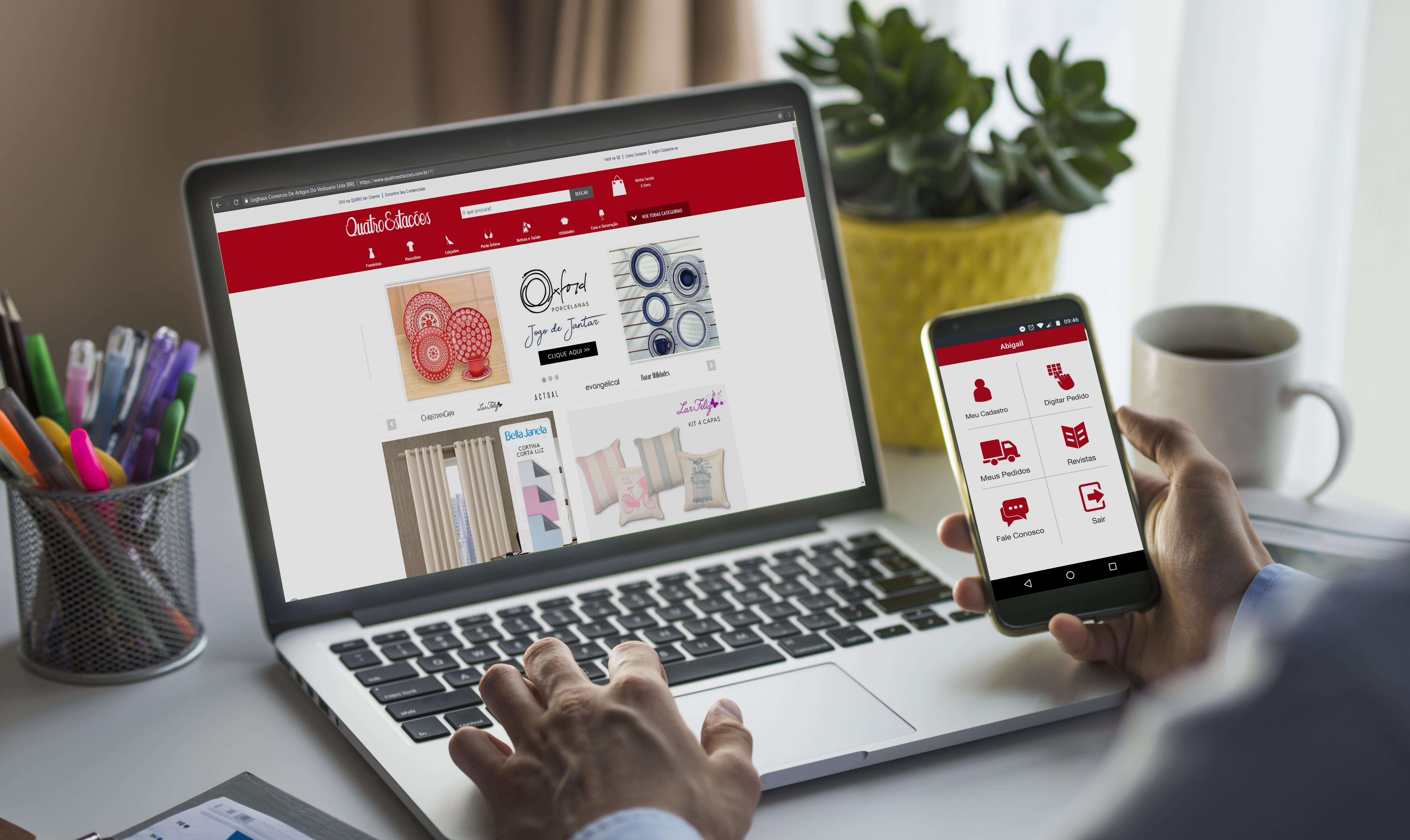 ... consultar os produtos através do Aplicativo Pedidos Quatro Estações ou  do site www.quatroestacoes.com.br. Você também pode utilizar o aplicativo e  site ... 45eabcd963
